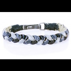 Wole Alligator Leather Bracelet
