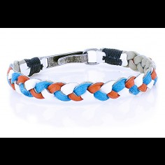 Wole Ostrich Leather Bracelet